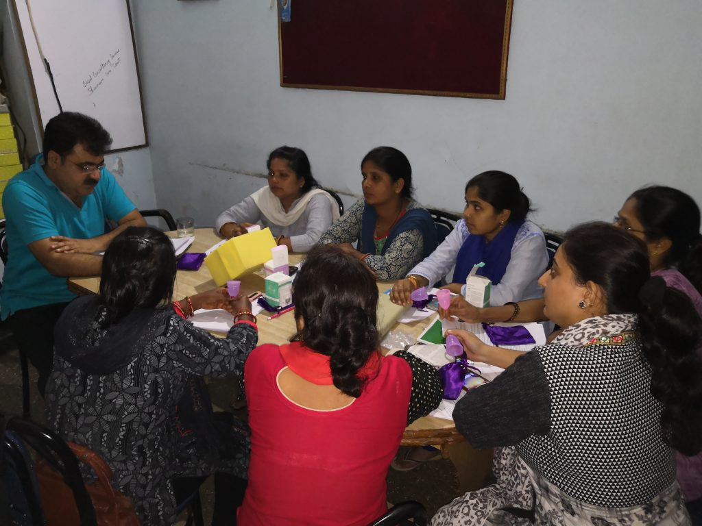 Training for Menstrual Hygiene Management at Social Consultancy Services, Lucknow