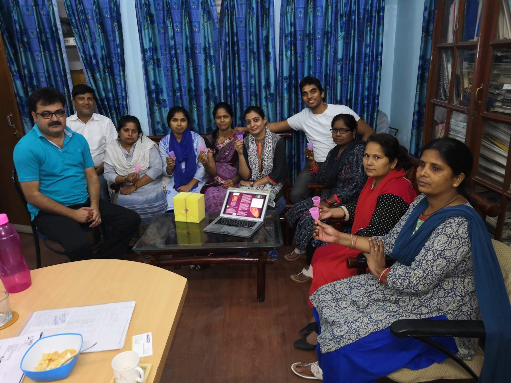 Group Training for Menstrual Hygiene Management at Social Consultancy Services, Lucknow