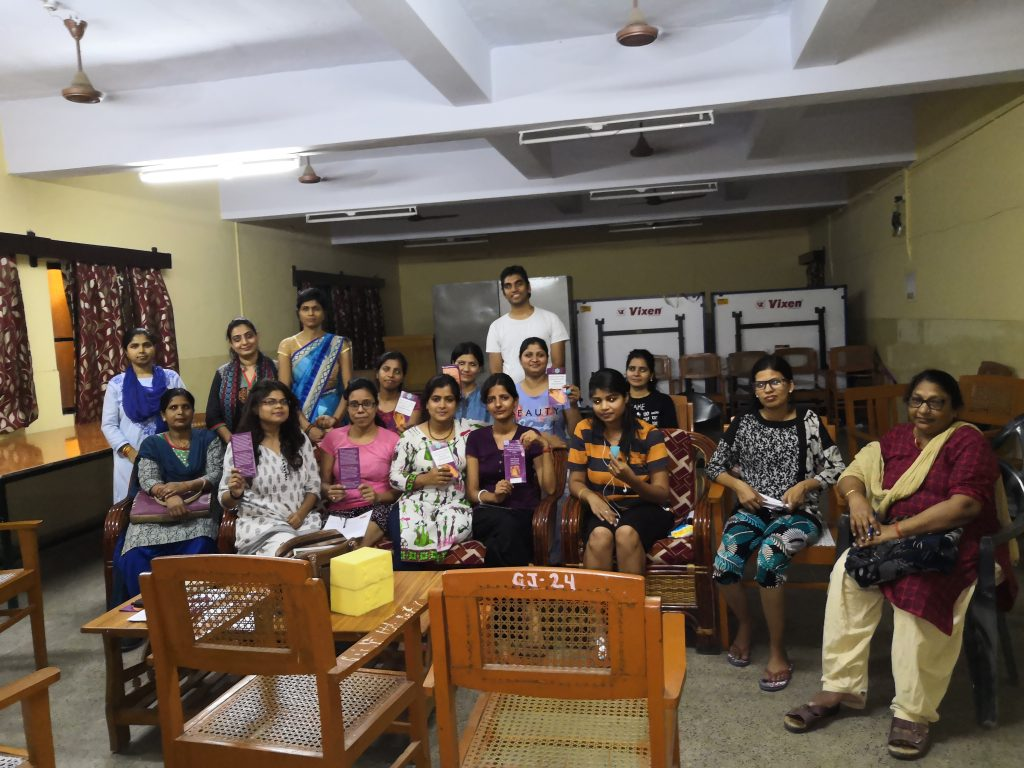 Project for Peace at Golden Jubilee Girls Hostel - Lucknow University