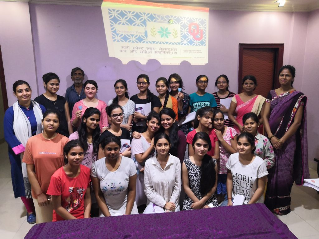 Project for Peace at Ashwini Girls Hostel, Lucknow