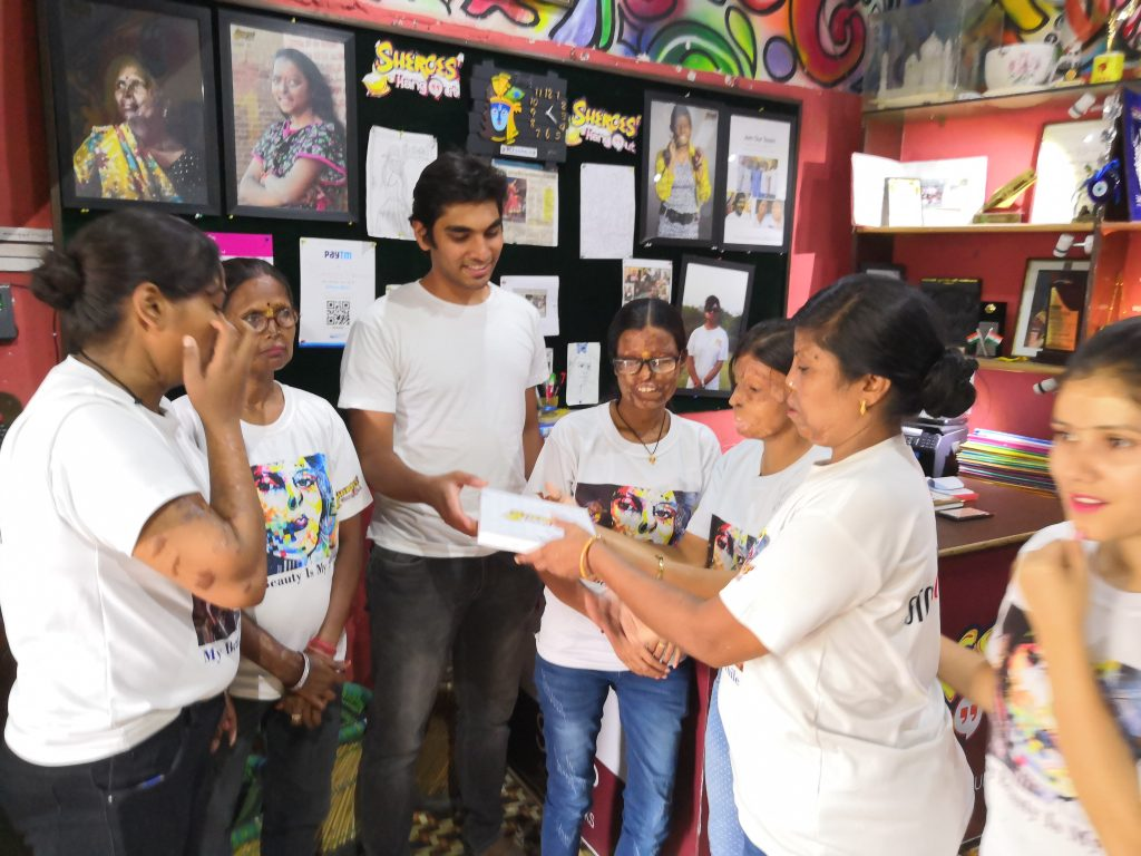 Project for Peace at Sheroes' Hangout, Agra